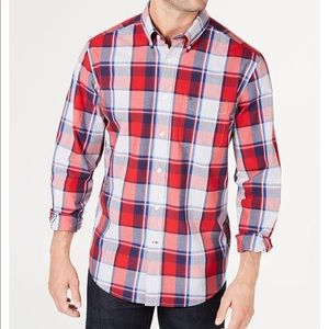 Men's Tommy Hilfiger button down long sleeve shirt